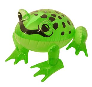 Inflatable Frog 39cm