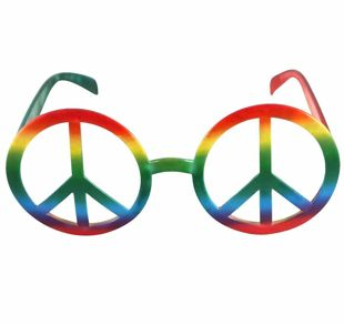 Adult Peace No Lens Glasses
