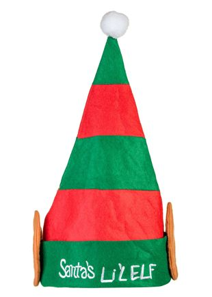 Plush Santa Lil Elf Hat
