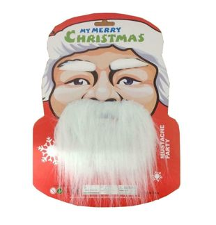 Santa Eyebrows Beard and Mustache Set