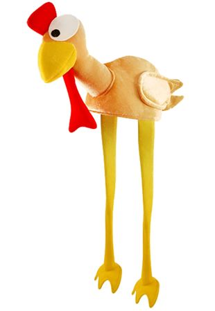 Adult Turkey Hat With Head And Legs