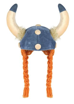 Adult Viking Hat with Plaits