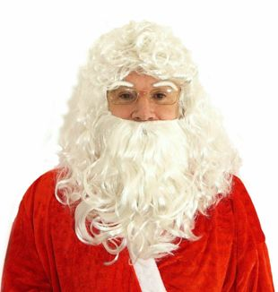 Santa Wig With beard and Eyebrows 190g