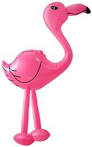 Inflatable Flamingo Pink 64cm