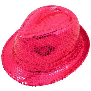 Pink Sequin Hat