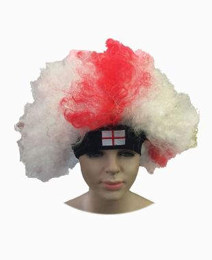 St George Curly Wig