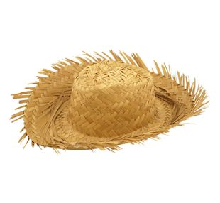 Female Beachcomber Straw Hat