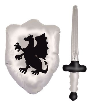Inflatable Shield 48cm & Sword 62cm